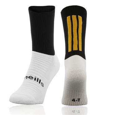 O'Neills Koolite Midi Socks - Black/Amber