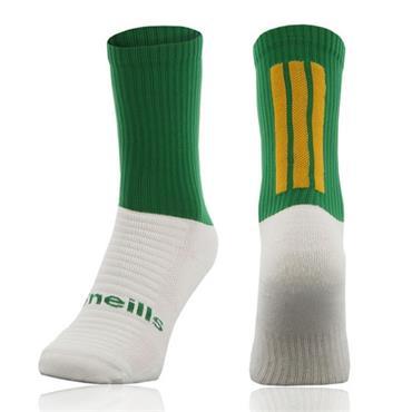 O'Neills Men's Koolite Midi Socks - Green/Amber