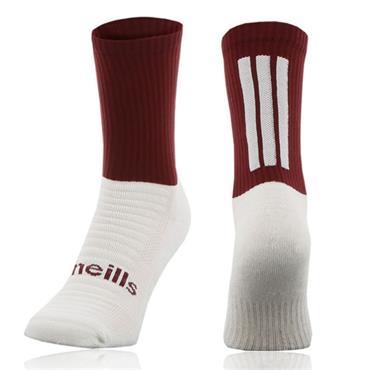 O'Neills Men's Koolite Midi Socks - Maroon