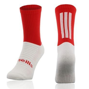O'Neills Men's Koolite Midi Socks - Red/White