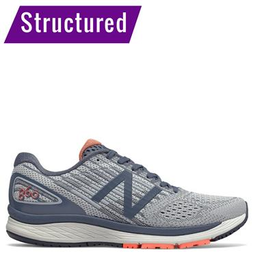 New Balance Mens 860v9 Running Shoe - Grey