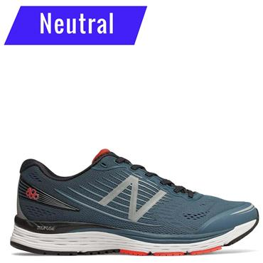 NEW BALANCE MENS 880V8 RUNNING SHOE - GREY