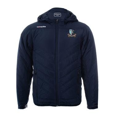 O'NEILLS ADULTS MILFORD PADDED JACKET - NAVY