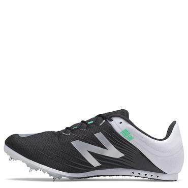 New Balance Mens MD500v6 Running Spikes - Black/White