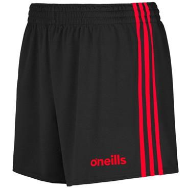 O'Neills Mourne Shorts - Black/Red