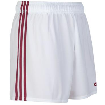 O'Neills Mourne Shorts - White/Maroon