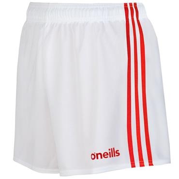 O'Neills Mourne Shorts - White/Red