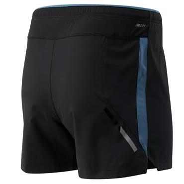 New Balance Mens Impact Shorts - BLACK