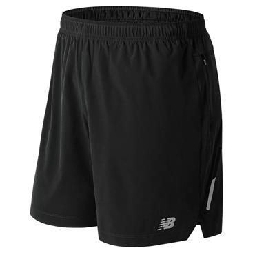New Balance Mens Impact Shorts - BLACK