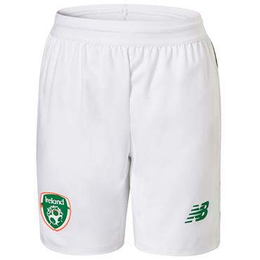 NEW BALANCE MENS FAI HOME SHORT 18/19 - WHITE