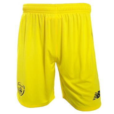 New Balance Adults Ireland FAI Goalkeeper Shorts 2018/19 - Yellow