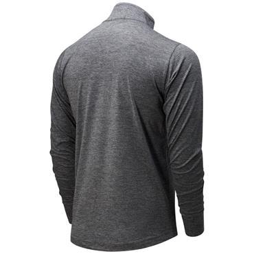 New Balance Mens Fortitech Quarter Zip - Grey