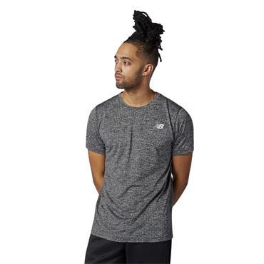 New Balance Mens Tenacity T-Shirt - BLACK