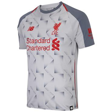 New Balance Adults Liverpool Third Jersey 2018/19 - Grey