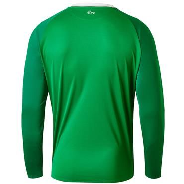 New Balance Adults Ireland FAI Long Sleeve Jersey 2018/19 - Green