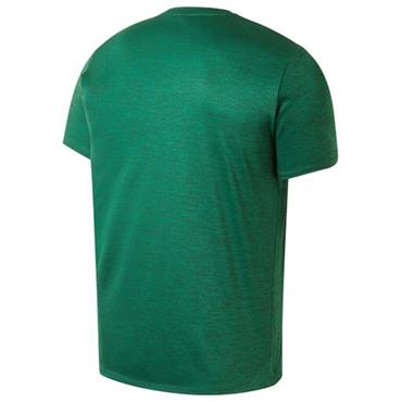 ADULTS FAI ELITE LEISURE SS TSHIRT - GREEN