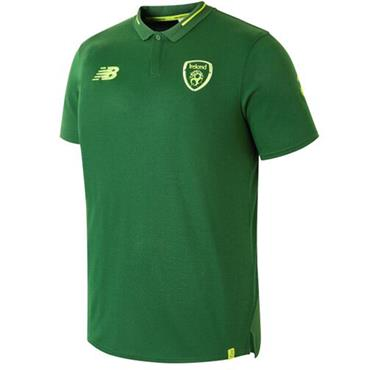 ADULTS FAI ELITE LEISURE POLO SHIRT - GREEN