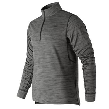 New Balance Mens Anticipate 2.0 Half Zip - Grey