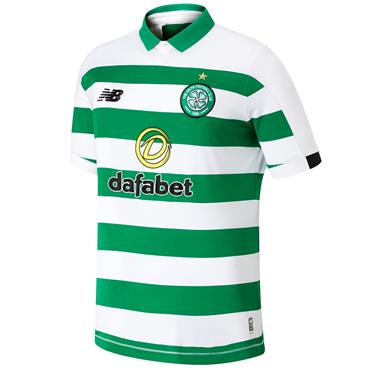 New Balance Adults Celtic Home Jersey 2019/20 - Green/White
