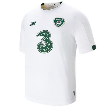 New Balance Adults FAI Ireland Away Jersey 219/20 - White