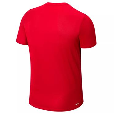 New Balance Adults Liverpool Off Pitch T-Shirt - Red
