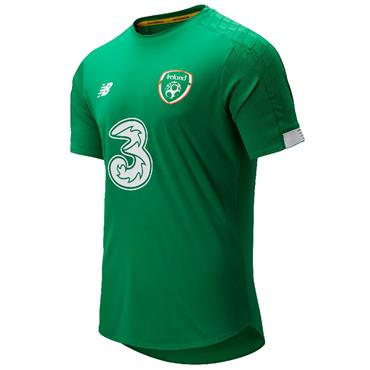 New Balance Adults FAI Ireland On Pitch Jersey - Green