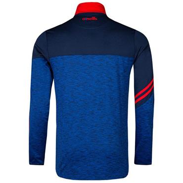 O'Neills Adults New York GAA Nevis 122 Brushed Half Zip - Navy