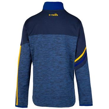 O'Neills Adults NYPD GAA Nevis 122 Brushed Half Zip - Blue