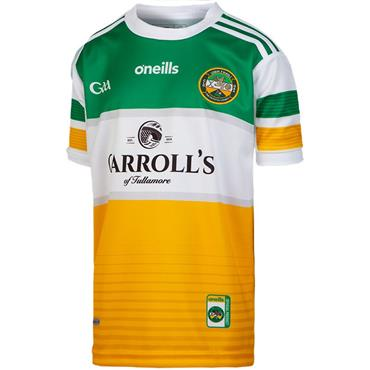 O'Neills Kids Offaly GAA Home Jersey 19/20 - YELLOW MULTI