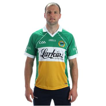 O'Neills Adults Glenswilly GAA Home Jersey 2017 - Green/White