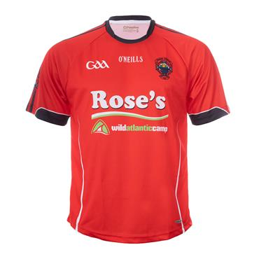 O'Neills Kids St. Michaels GAA Home Jersey - Red