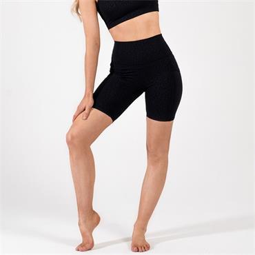 Gym Goddess Womens Oshun Shorts - BLACK