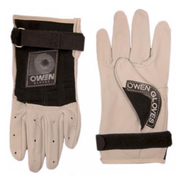 Owen Adults Handball Gloves - BLACK