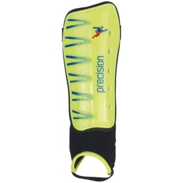 Precision Vector Shinguards - Yellow/Blue