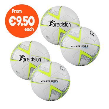 Precision Fusion Lite Football Pack | (Ages U9-U11) | 320G - White/Yellow