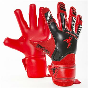 PRECISION FUSION GOALKEEPER GLOVES - BLACK/RED