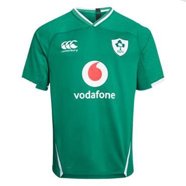 Canterbury Kids IRFU Rugby Ireland Vapodri+ Pro Home Jersey - Green