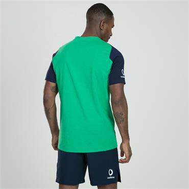 Canterbury Mens IRFU Rugby Ireland Cotton T-Shirt - Green