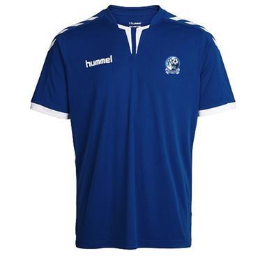 Hummel Adults Raphoe FC Core Jersey - Blue