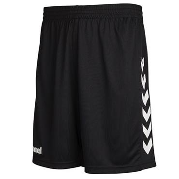HUMMEL MEN RAPHOE FC CORE POLY SHORTS - BLACK