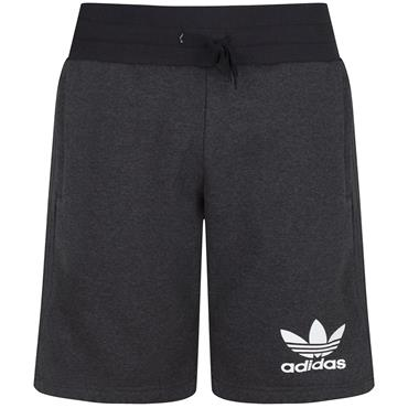 ADIDAS ESSENTIALS MENS SHORTS - CHARCOAL GREY