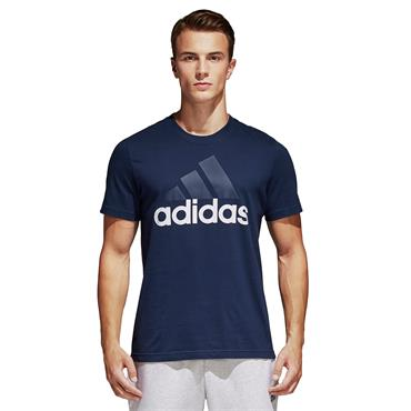 ADIDAS ESSENTIALS LINEAR TSHIRT - NAVY