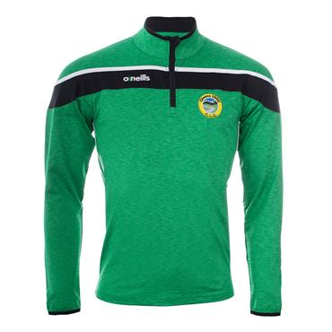 O'Neilsl Adults Glenswilly GAA Half Zip Top - Green