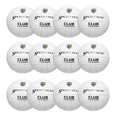 Sportech Club Trainer Pack of 12 - WHITE