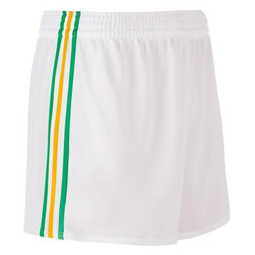 SPERRIN SHORTS - WHITE/GREEN/AMBER