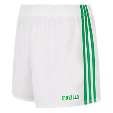 SPERRIN SHORTS - WHITE/GREEN