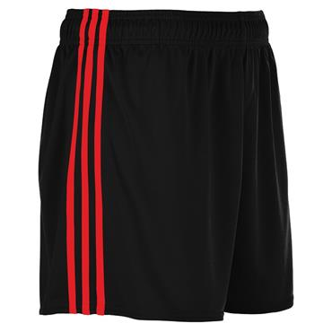 SPERRIN SHORTS - BLACK/RED