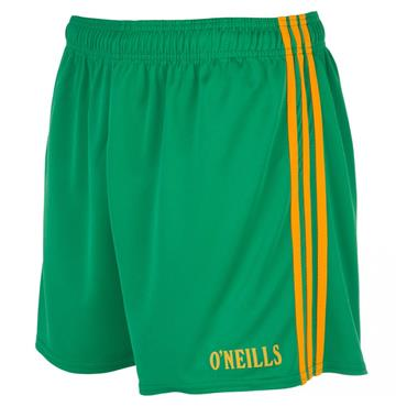 SPERRIN SHORTS - GREEN/AMBER