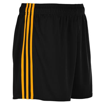 SPERRIN SHORTS - BLACK/AMBER
