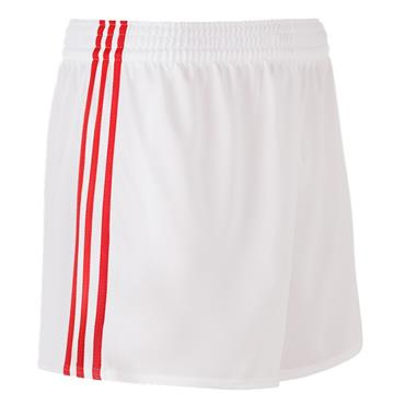 O'NEILLS SPERRIN SHORTS - WHITE/RED